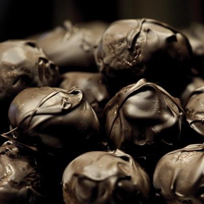 Panellets de xocolata de la pastisseria Turull