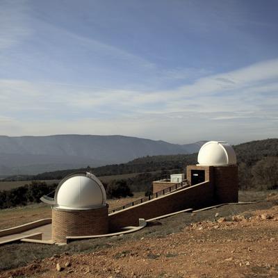 Vues extérieures du Centre d'Observation de l'Univers (Cablepress)