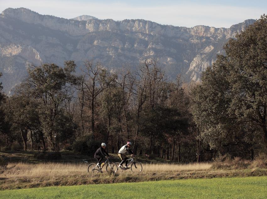 Auf dem Mountainbike durch El Berguedà