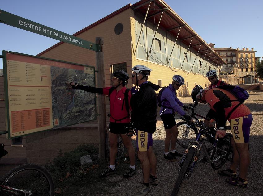 Punt d'acollida del centre de BTT del Pallars Jussà
