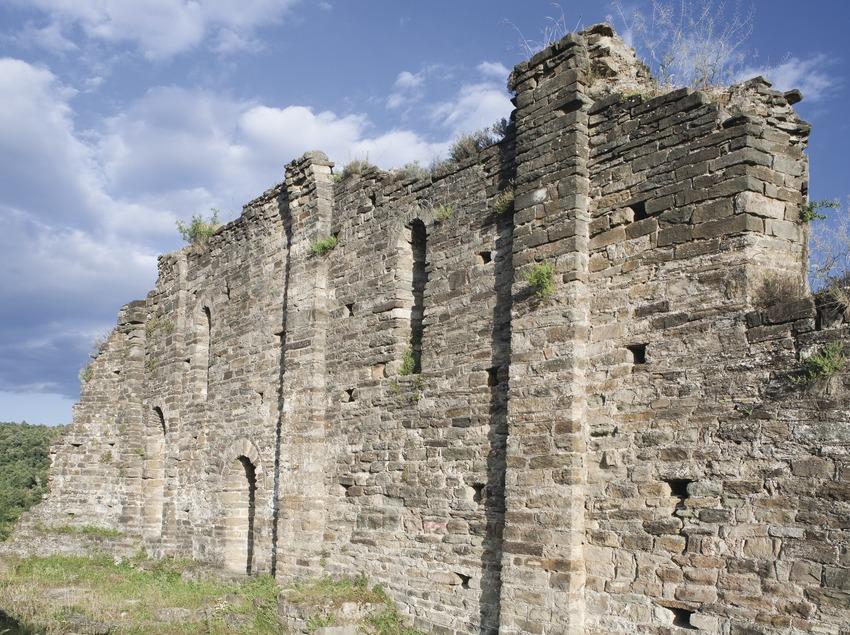 Poblado Ibérico y medieval de L'Esquerda  (Imagen M.A.S.)