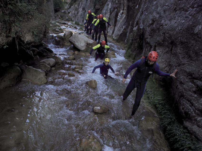 Canyoning au Forat du Bulí (Cablepress)