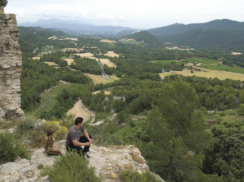 Berge der Sierra del Montsant
