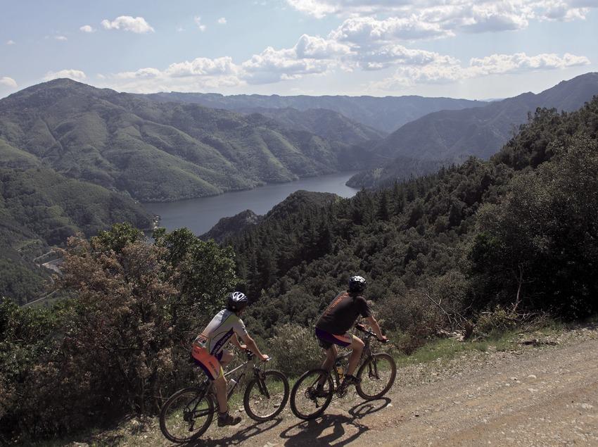 MTB-Strecke in La Selva