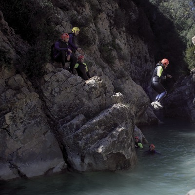 Canyoning im Fortat del Bulí (Cablepress)