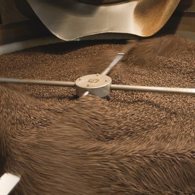Cafès Pont. Sortida de cafè torrat  (Imagen M.A.S.)