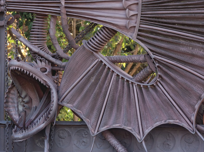 Pavellones de la Finca Güell (Nano Cañas)