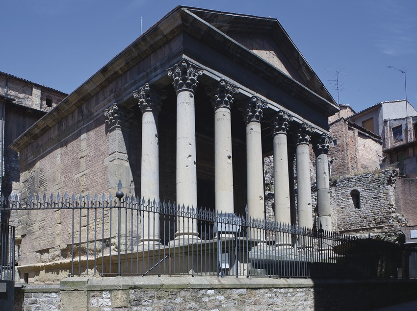 Templo romano (Juan José Pascual)
