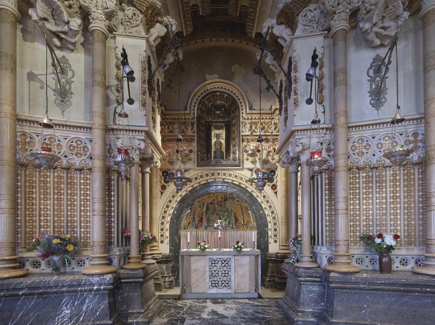 Abadia de Montserrat. La Mare de Déu de Montserrat. Santuari (Juan José Pascual)