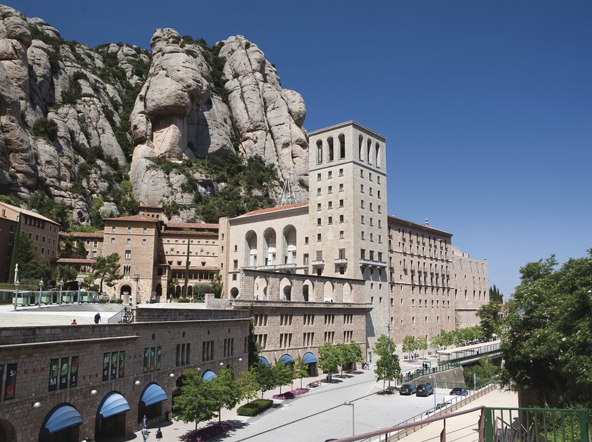 Monasterio y montaña de Montserrat (Juan José Pascual)