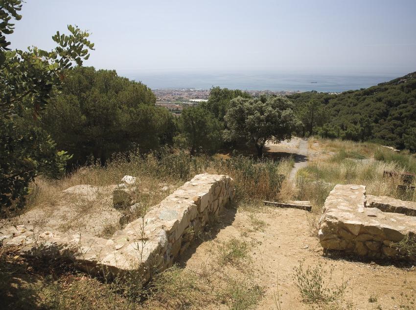 Premià de Dalt. Iberische Siedlung von Cadira del Bisbe (Juan José Pascual)