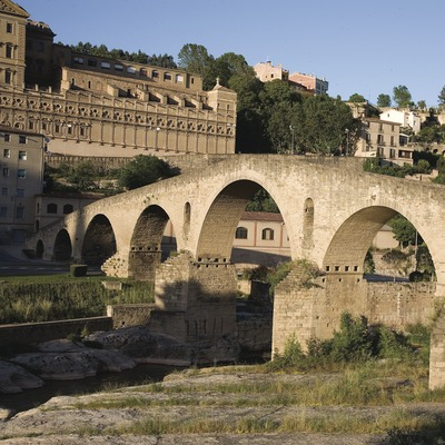 Manresa. Puente viejo (Juan José Pascual)