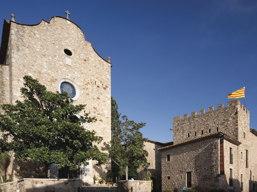 Ensemble historique du centre historique de Castell d'Aro (Juan José Pascual)