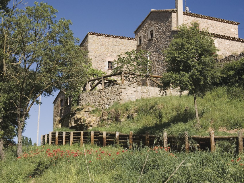 Sant Pere Sallavinera, masia (Juan José Pascual)
