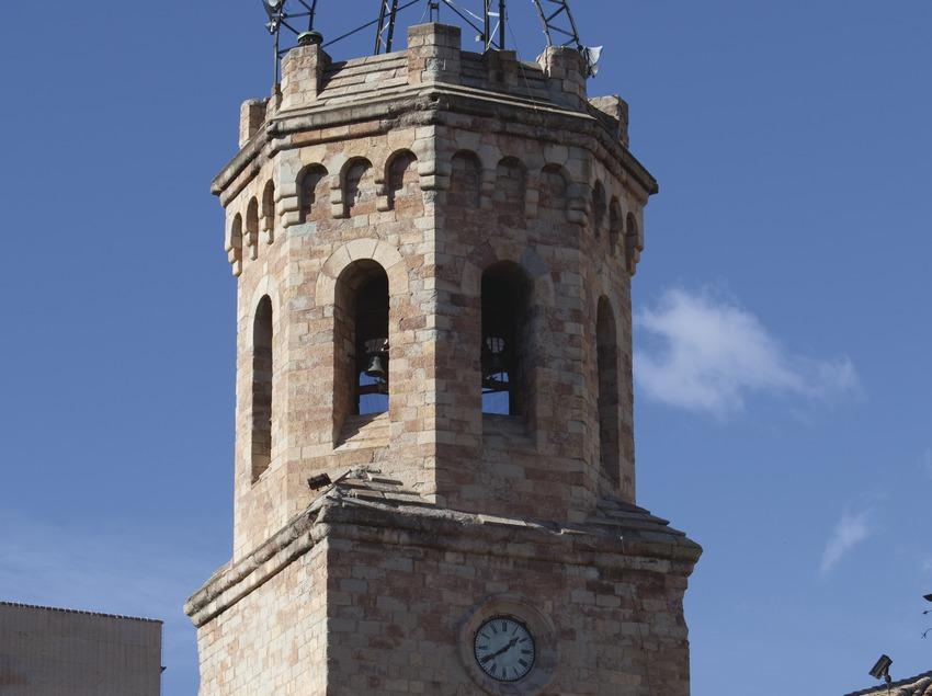 Campanario de la iglesia de la Virgen María de Valldeflors (Juan José Pascual)