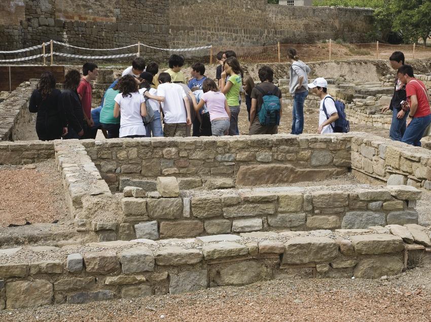 Гиссона, археологический парк на месте раскопок древнеримского города Иессо (Juan José Pascual)