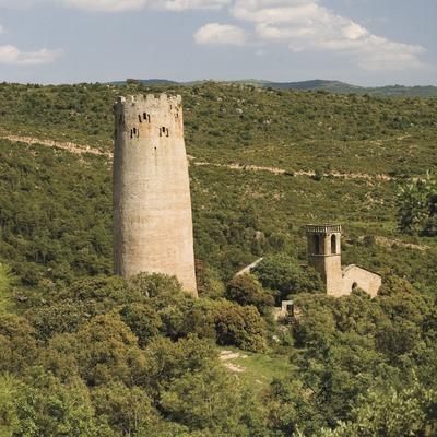 Torre e iglesia de Vallferosa (Juan José Pascual)