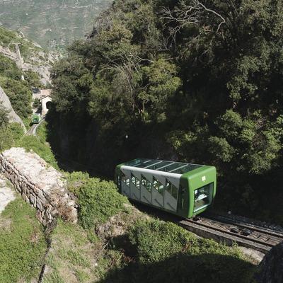 Funicular de Montserrat (Juan José Pascual)