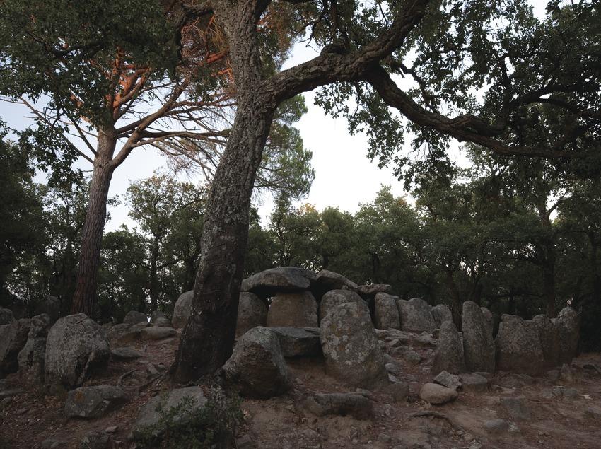 Мегалитические памятники в горном массиве Лес-Гаваррес (Juan José Pascual)