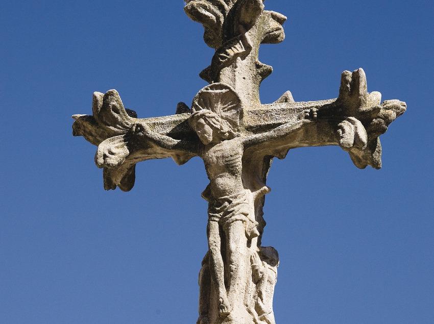 Els Prats de Rei, croix de la Virgen del Portal (Juan José Pascual)
