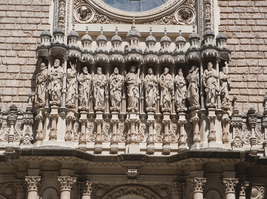 Monestir i muntanya de Montserrat. Santuari (Juan José Pascual)