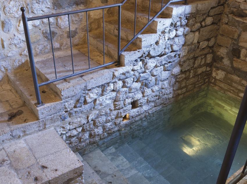 El Miqvé o casa de baños rituales (Juan José Pascual)