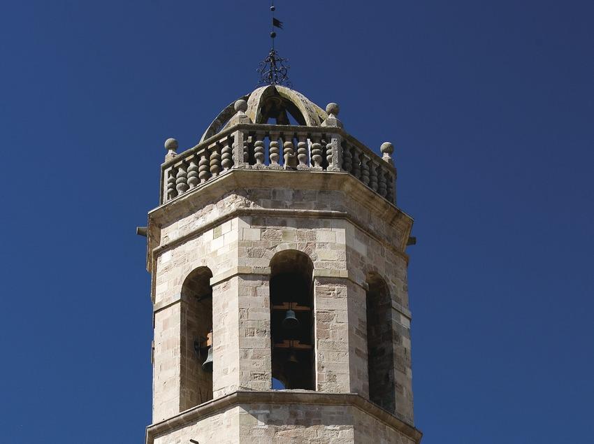Els Prats de Rei, Turm der Kirche Santa Maria (Juan José Pascual)