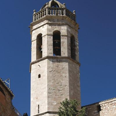 Els Prats de Rei , torre de la església de Santa Maria (Juan José Pascual)