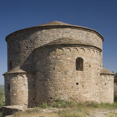 Sallent, església romanica de Sant Sebastia (Juan José Pascual)