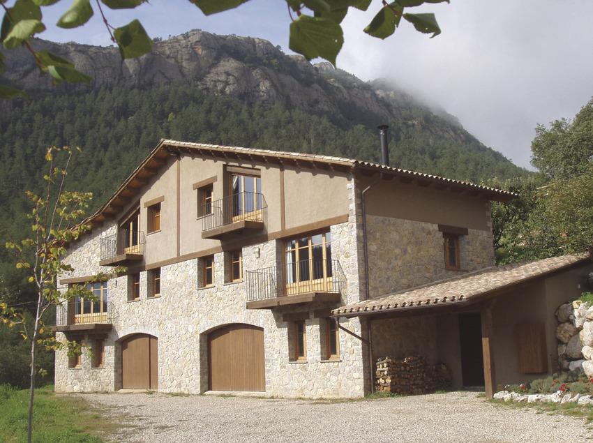 Cal Marti, vista general de la fachada   (Cal Martí)