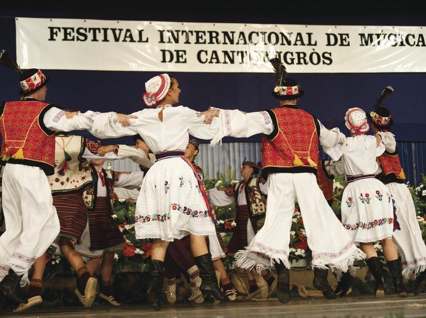 Festival Internacional de Música de Cantonigrós. Danzarines, pies (Marc Castellet Puig)
