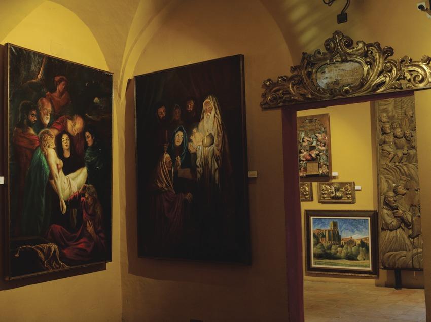 Festival Terra de Trobadors. Castelló d'Empúries, museo parroquial, pinturas, basílica Santa maria
