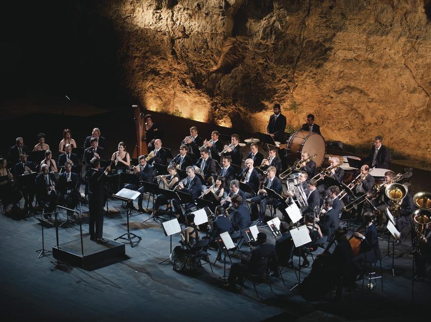 Festival Grec Barcelona. Teatre grec, Banda Municipal de Barcelona, escenario