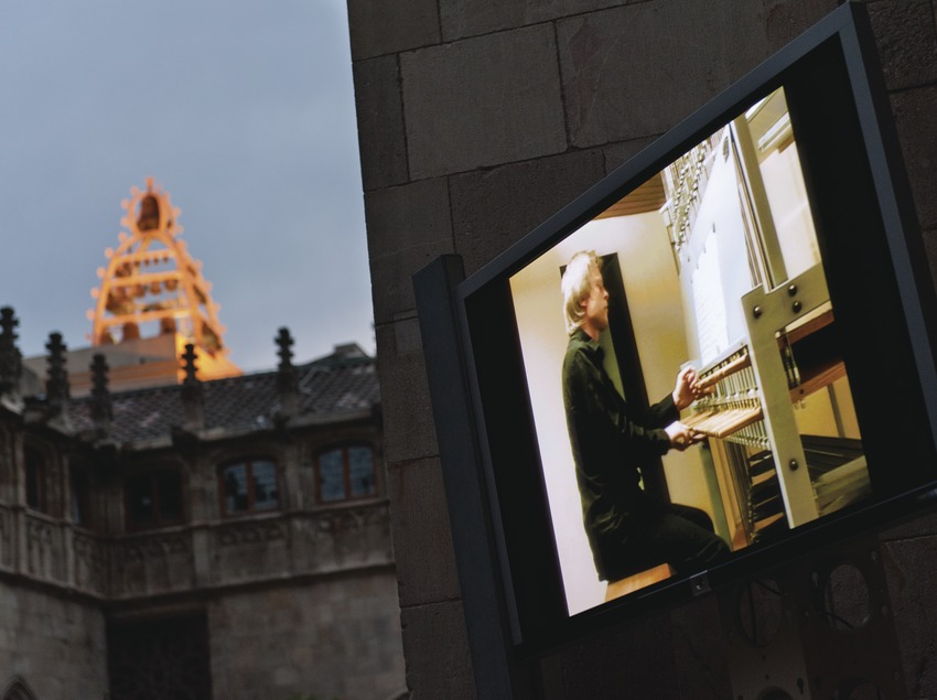 Festival de Carilló. Palau de la Generalitat, carillón, patio de los naranjos, intérprete (Koen van Assche, Bélgica) (Marc Castellet Puig)