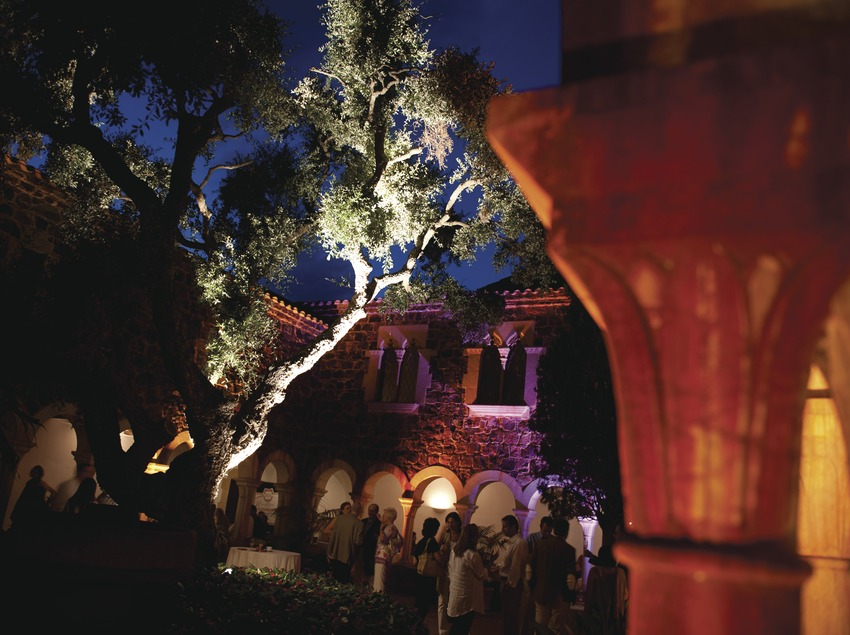 Festival Jardins de Cap Roig. Claustro castillo, público (Marc Castellet Puig)