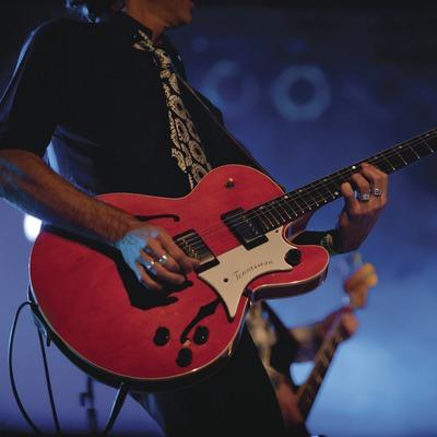 Blues Cerdanyola. Guitarra i baix Justo y Los Pecadores (Cat) (Marc Castellet Puig)