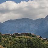 Пиренейский фестиваль аккордеонистов. Поселок Арсегель, горная гряда Кади