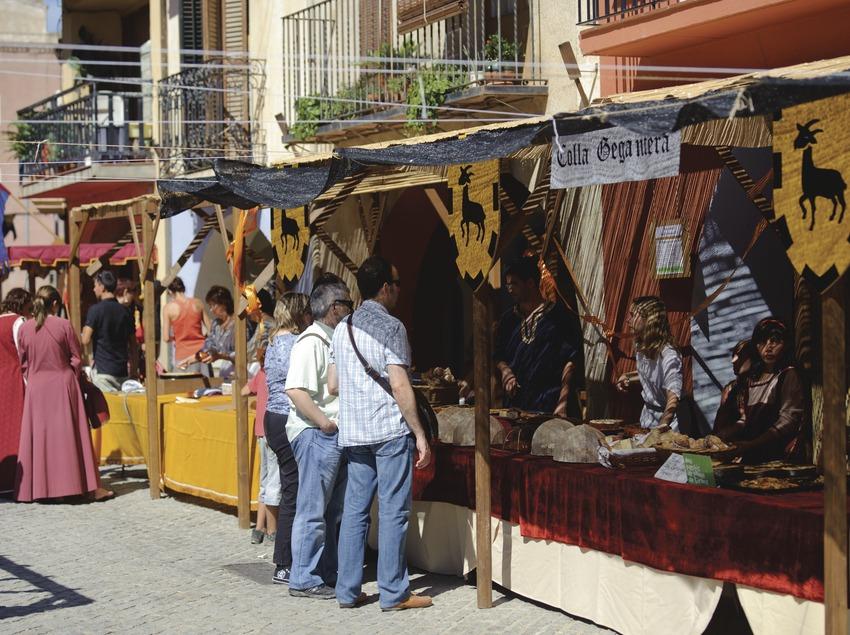 Festival Terra de Trobadors. Mercat medieval