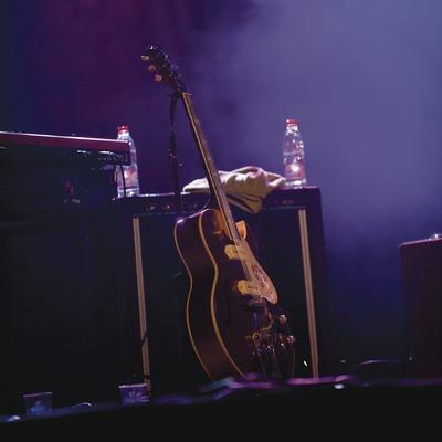 Blues Cerdanyola. Guitarra y amplificadores en el escenario (Marc Castellet Puig)