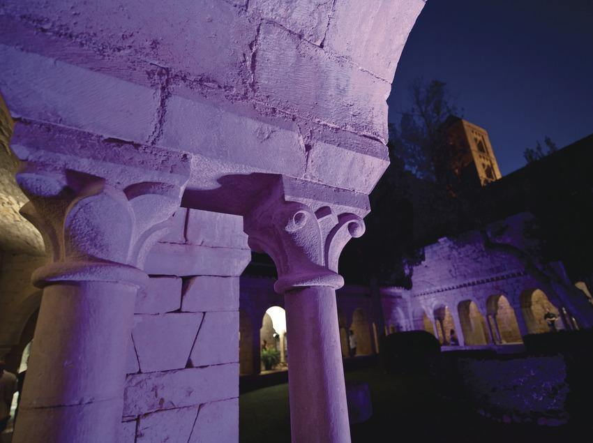 Schubertiada. Claustre de l'església de Santa Maria i campanar