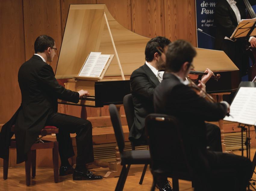 festival Internacional de Música Pau Casals. Auditorio Pau Casals, músicos (I Solisti Veneti, ITA) (Marc Castellet Puig)
