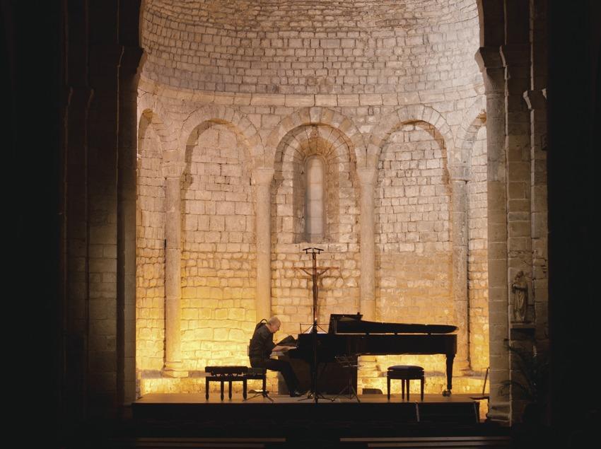 Schubertiada Vilabertran. Iglesia Santa Maria, pianista (Johannes Jess-Kropfitsch)