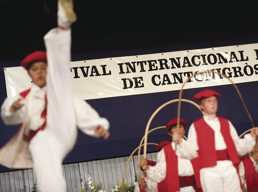 Festival Internacional de Música de Cantonigrós. Danzarines (Euskadi), logo festival (Marc Castellet Puig)