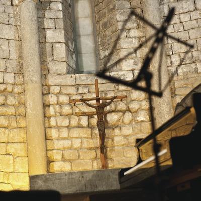 Schubertiada. Esgésia de Santa Maria, Piano, Imatge religiosa i àbsis (Marc Castellet Puig)