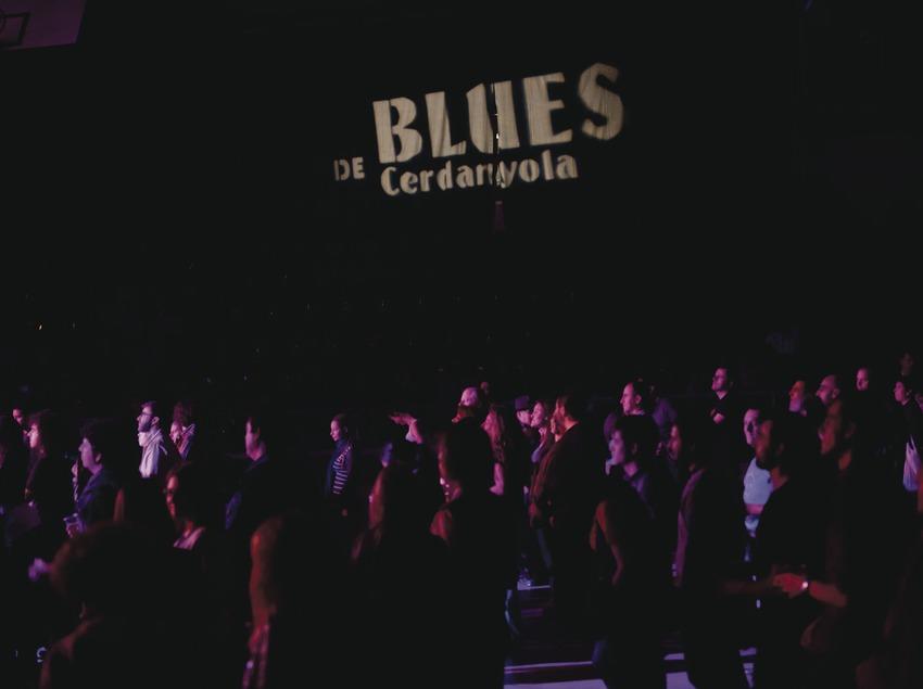Blues Cerdanyola. Logo del festival i públic (Marc Castellet Puig)