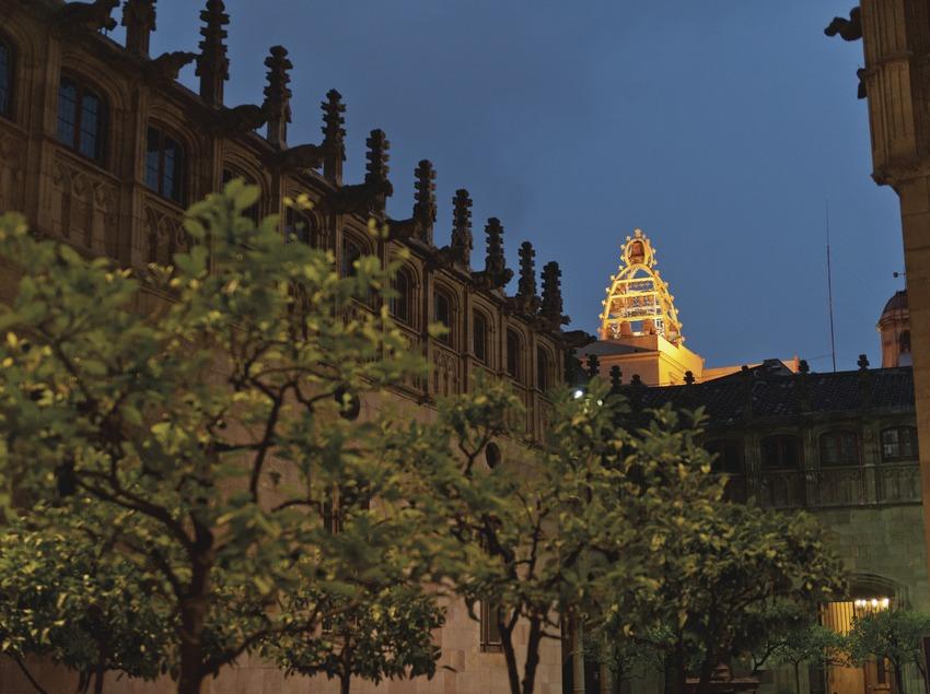Festival de Carilló. Palau de la Generalitat, carillón, patio de los naranjos (Marc Castellet Puig)