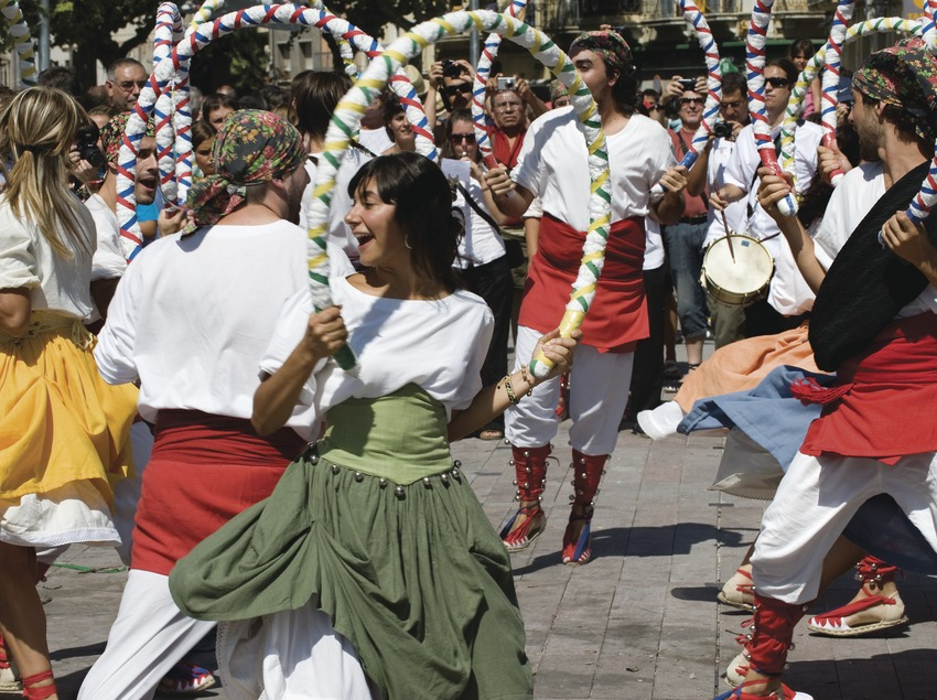 Danse de Cercolets. Fête de la Saint-Félix (Gemma Miralda)