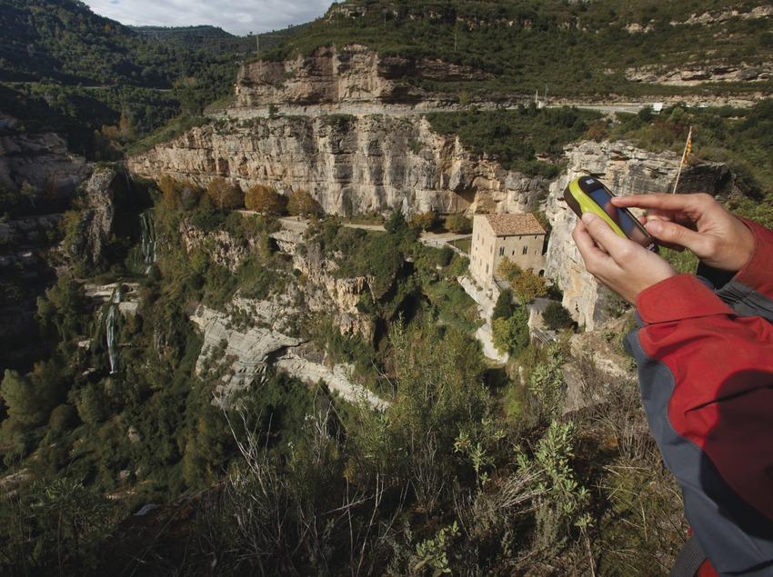 Sant Miquel del Fai, Observació GPS (Daniel Julian Rafols)