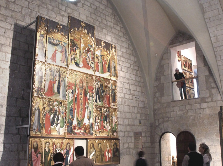 Girona. Façana del Museu d'Art   (Museu d'Art de Girona)