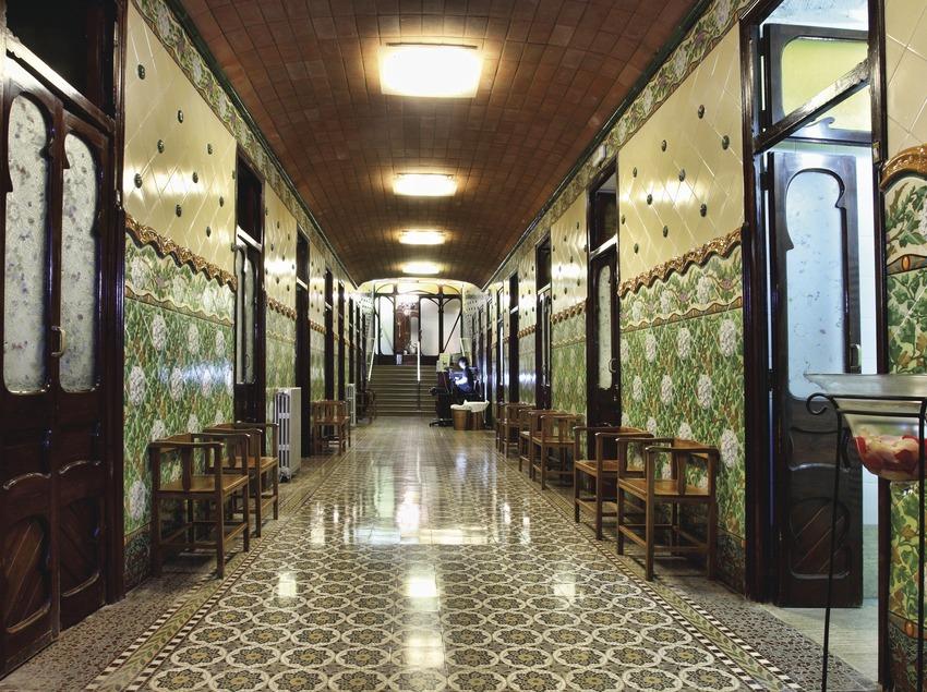 Catalunya Central. Interior del Balneari Broquetes, a Caldes de Montbui   (Consorci de Viles Termals)